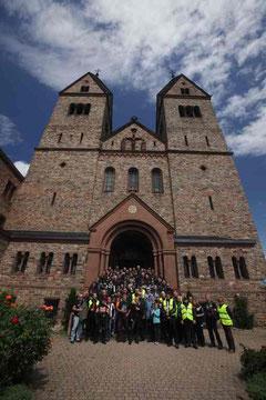 Ausfahrt zum Kloster St. Hidegart von Eibingen