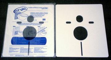 Art. 00199 Protezione antiurto - acustica universale per wc e bidet sospeso e/o filo parete