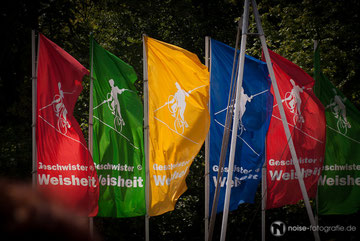 Die Geschwister Weisheit beim 13. Thüringentag 2011
