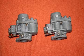 Die beiden 34PCI Vergaser von einem BMW 700