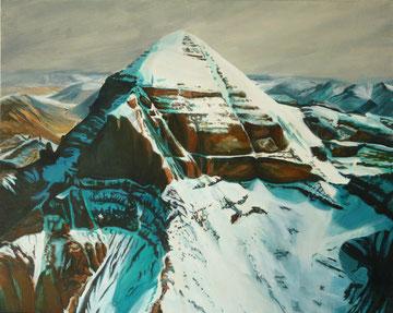 Kaialsh, die Innere Kora, Acryl auf Leinwand, 80 x 100 cm 2013, verkauft