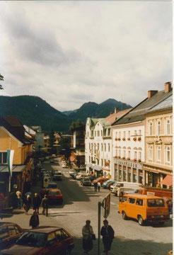 Mariazell/Österreich, der VW T3 war dort sehr beliebt :-)