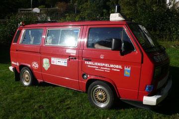VW T3 Transporter aus 1988, original Feuerwehr Ausbau mit 17 Zoll BBS Felgen optimiert