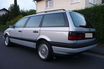 VW Passat Variant 1.9 TD aus 1991 mit Klima und BBS RM012