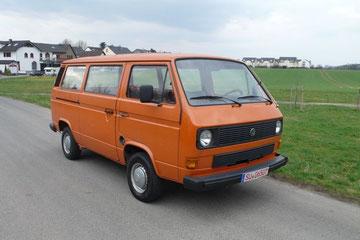 VW T3 Transporter Diesel aus 1981, einer der Allerersten, Bauernhoffund 2007, Restauration für 2014 geplant, original 75000 km