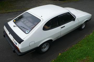 Ford Capri 2,3S aus 1983, absoluter Originalzustand mit 70.000 km, 2010 aus erster Hand gekauft