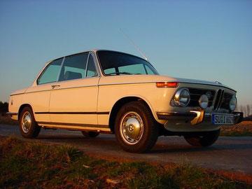 BMW 1602, 1988 aus erster Hand gekauft, seitdem in meinem Besitz