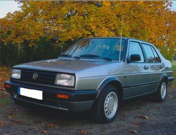VW Jetta GL aus 1991, sehr gut ausgestattet