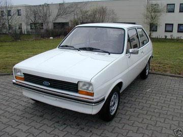 Ford Fiesta aus 1981, 2007 mit 30000 km von 92 jähriger Ärztin gekauft