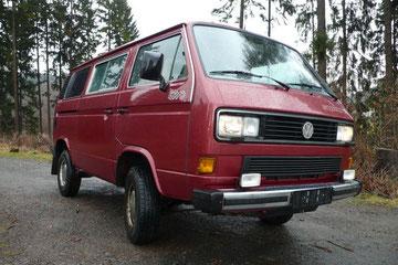 VW T3 Caravelle GL Syncro, Vollausstatter, Erstbesitz VW AG