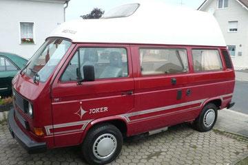 VW T3 Westfalia Joker, Ersthand, VW scheckheftgepgflegt bis 300000 km! aufgearbeitet in Jahre 2009