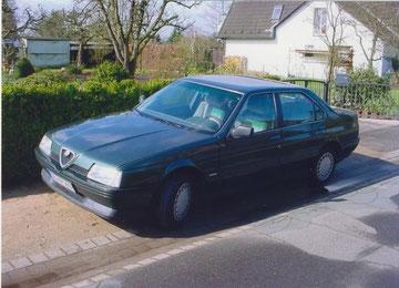 Alfa Romeo 164 T-Spark, Winterschlampe, war sparsam, schnell und hat nie Ärger gemacht