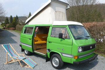 VW T3 Westfalia Joker 2 aus 1979, zweitältester noch bekannter Joker