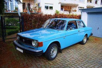 Volvo P 142 aus 1975, war leider für eine wirtschaftliche Restauration zu schlecht, 2010 wieder verkauft