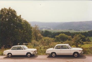 BMW 1600 VON 1967 und BMW 1602 von 1972