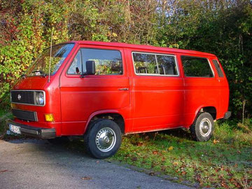 VW T3 Caravelle C aus 1986, mein erster T3, war verbraucht und immer im Eimer