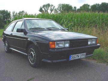 VW Scirocco aus 1991, Sondermodell GT2, 2003 aus Erstbesitz gekauft