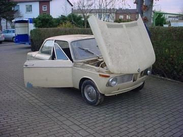 BMW 1600-2, 1969, nach 25 Jahren Dornröschenschlaf aufgeweckt