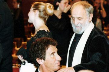 César et Jack Lang - 1997  - Photo © AnikCouble