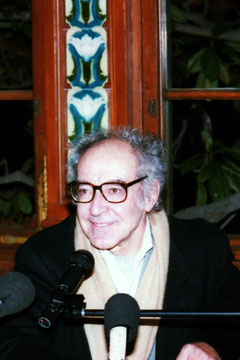 Jean - Luc GODARD - Institut Lumière - Lyon - 1996 © Anik COUBLE