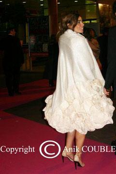 Elodie BOUCHEZ - Festival de Cannes  2006 © Anik COUBLE