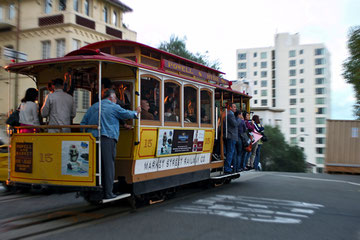 California (USA) - San Francisco - Cablecar