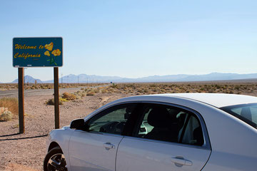 Nevada-California (USA) - Towards Death Valley -
