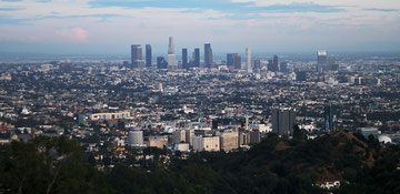 California (USA) - Skyline of Los Angeles