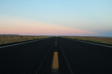 Arizona (USA) - Towards the Monument Valley