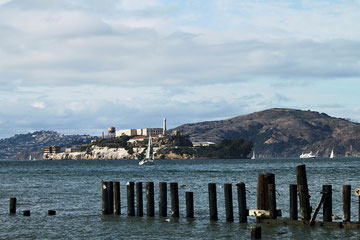 California (USA) - San Francisco - View of Alcatraz