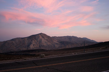 From Death Valley towards Yosemite National Park - California (USA)