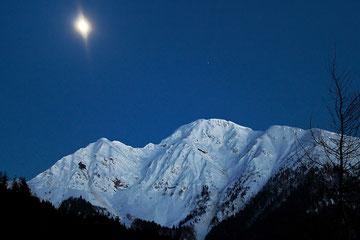 Dosso Alto al chiaro di Luna (Loc. Maniva)