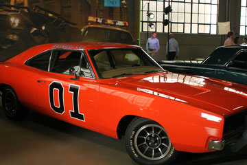 California (USA) - Los Angeles - General Lee into the Studios