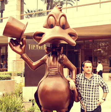 California (USA) - Los Angeles - Duffy Duck...my best friend! - Into the Studios