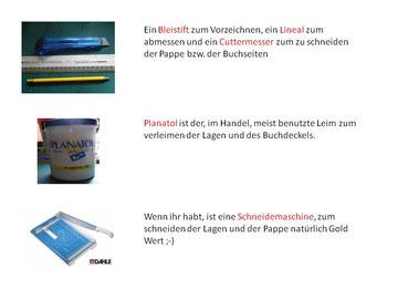 Anleitung Buchbinden mit Fadenheftung ,Benötigtes Material, Schritt für Schritt Anleitung als PDF Datei zum herunter laden,www.sophieskreativseite.de
