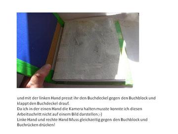 Anleitung Buchbinden mit Fadenheftung Schritt für Schritt Anleitung als PDF Datei zum herunter laden