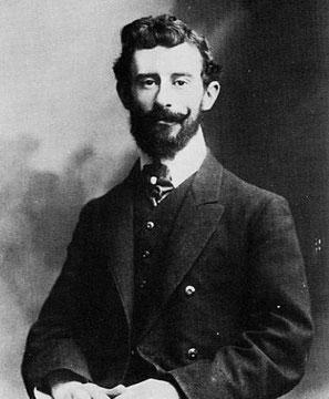 Maurice Ravel en 1906 (Pierre Petit).