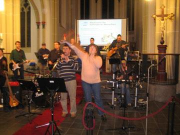 Die Rockband der Lebenshilfe Heinsberg begeistert das Publikum