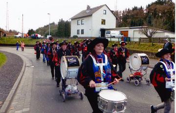 Veilchendienstag  Bad Hönningen 4.3.2014