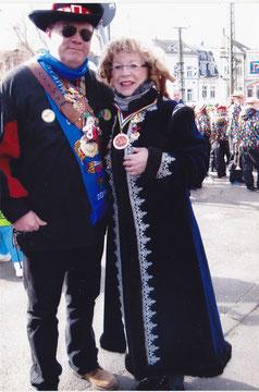 Bonn 3.3.2014  Ehrung der Präsidentin des Bonner Karneval