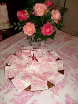 sachets pour dragées pour le mariage de IFrida Maria en FINLANDE