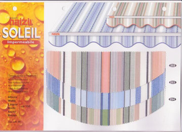 Tessuto speciale Naizil cod.n.252/253/254
