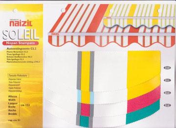 "Naizil ""Soleil"" impermiabile pvc - Codice Colore n.310/n.311/m.313/n.312"