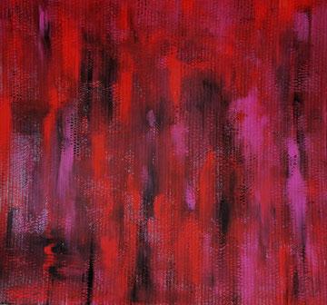 La Rencontre / 2015, Acryl auf Pappe, ca. 63 x 60 cm