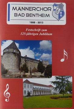 Die Titelseite der Festschrift zum 125-jährigen Jubiläum