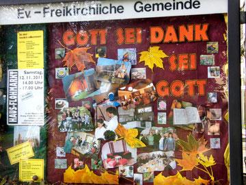 Herbst 2011 Schaukasten