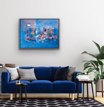 CANDORE NELL'ARIA, 2021, 88 x 68 cm / CHF 4800.-