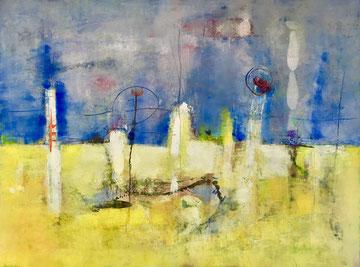 EMERSIONE, 2011, 110 x 91 cm