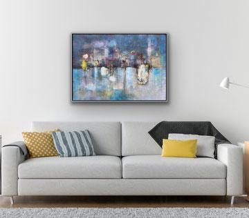 PRIME FORME E DISSOLVENZE, 2019, 104 x 76 cm / CHF 5800.-
