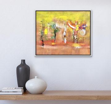 MAGIE, RITMI E LUCI RIFLESSE, 2019, 53 X 43 cm (Collezione privata)